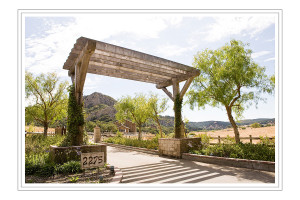 San Luis Obispo wedding venues - Holland Ranch - entrance to Holland Ranch
