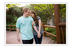 Disneyland engagement session: Kim and Fred at California Adventures