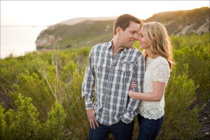 A gorgeous Avila Beach engagement portrait