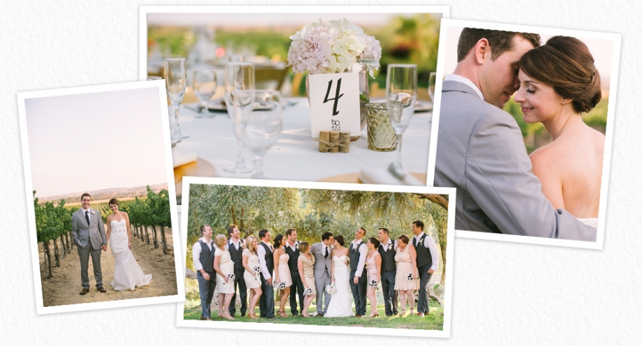 Still Waters Vineyards wedding photographs