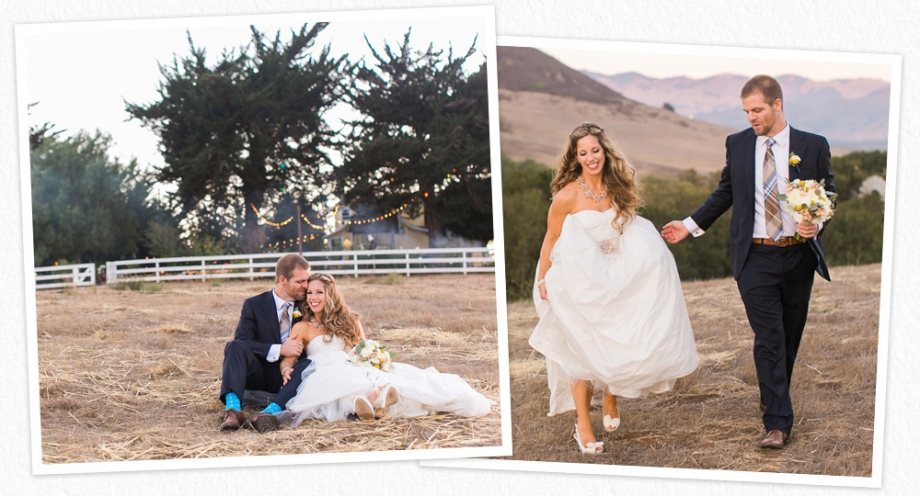 Flying Caballos Ranch wedding photos