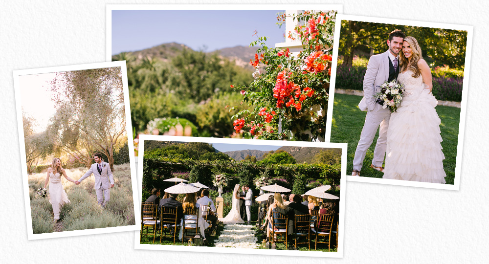San Ysidro Ranch wedding photographs