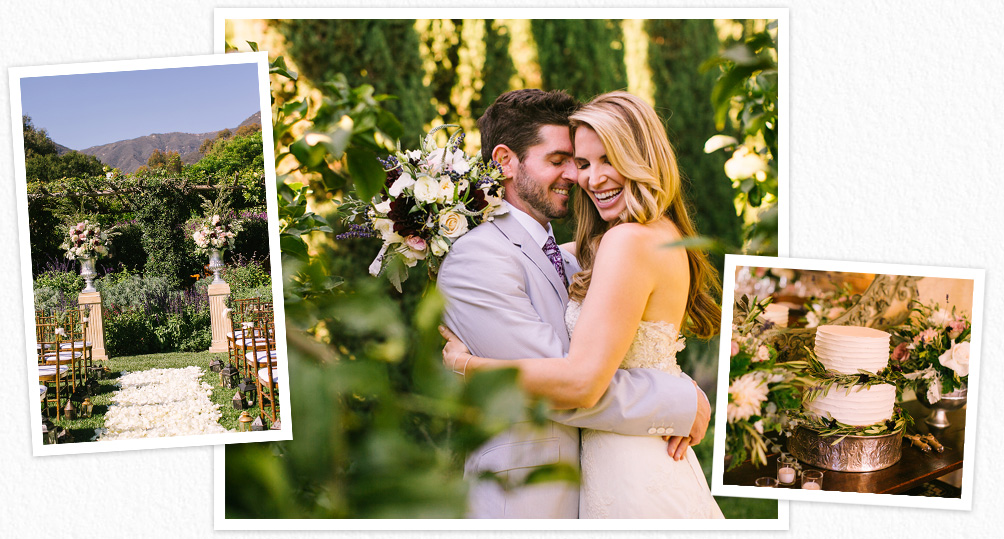 Nancy and Josh had a stylish San Ysidro Ranch wedding. Photographs taken by Jen Rodriguez.