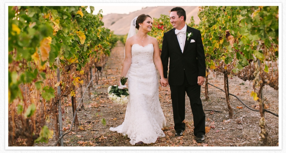 Wente winery wedding photographer