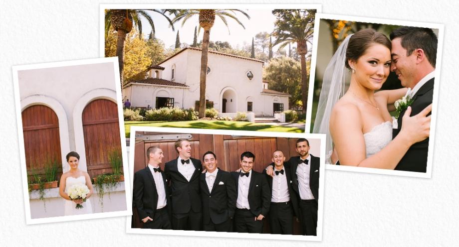 Wente winery wedding photos