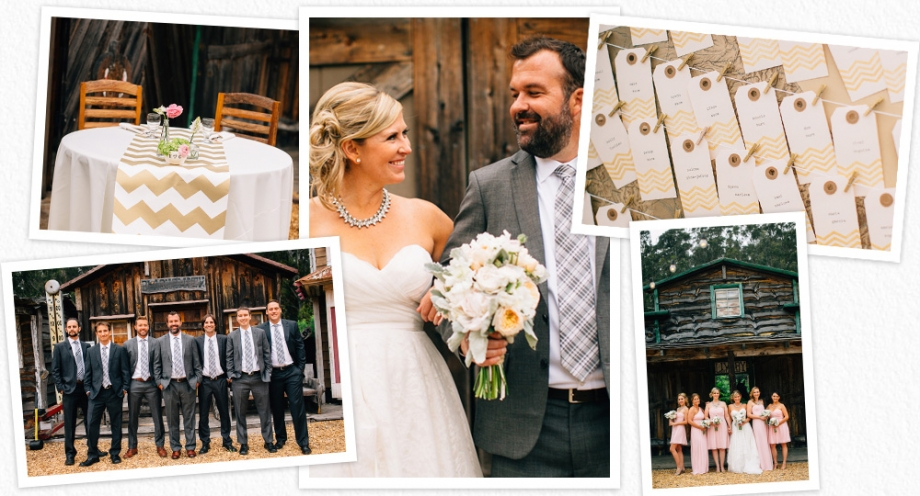 Long Branch Saloon and Farms wedding photographs