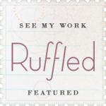 as seen on ruffled