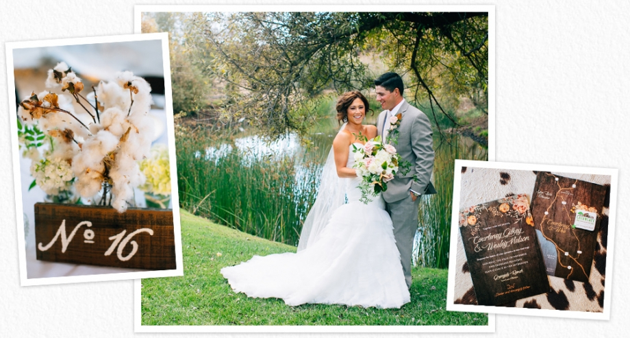 Greengate Ranch wedding featured on Style Me Pretty