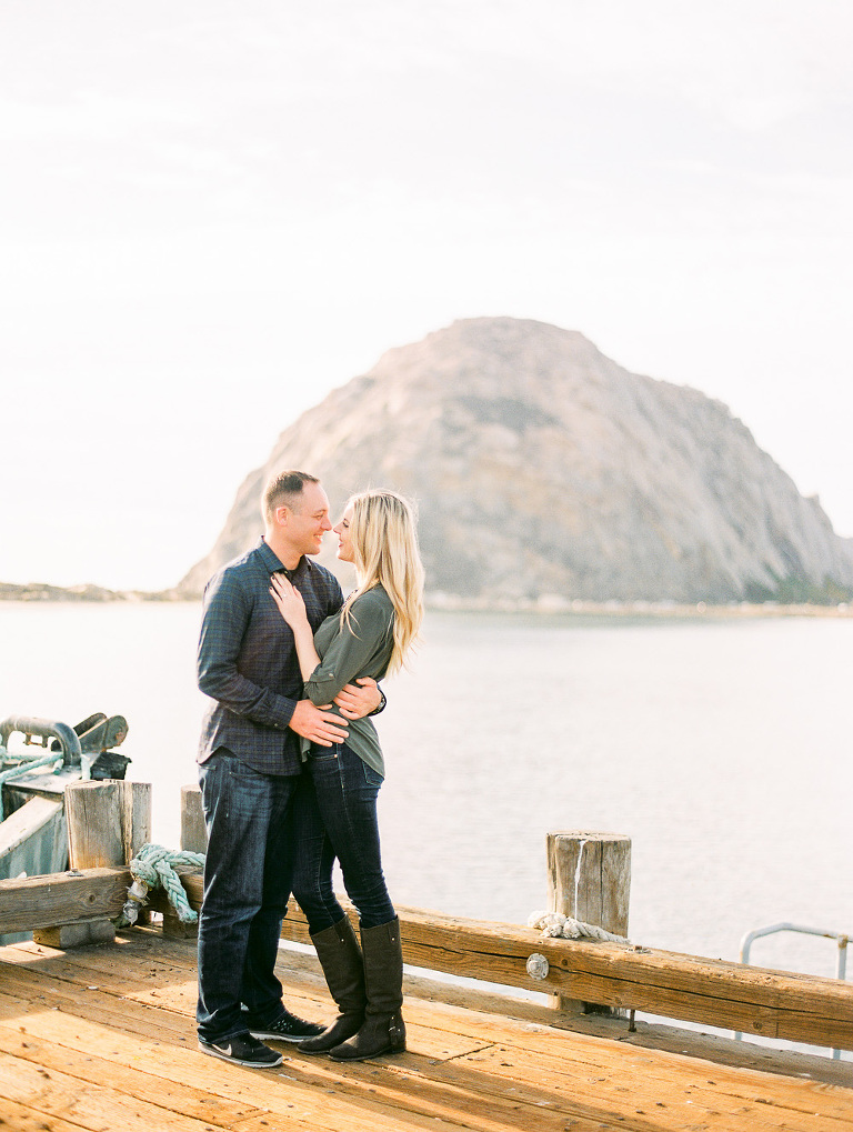 Morro Bay engagement session
