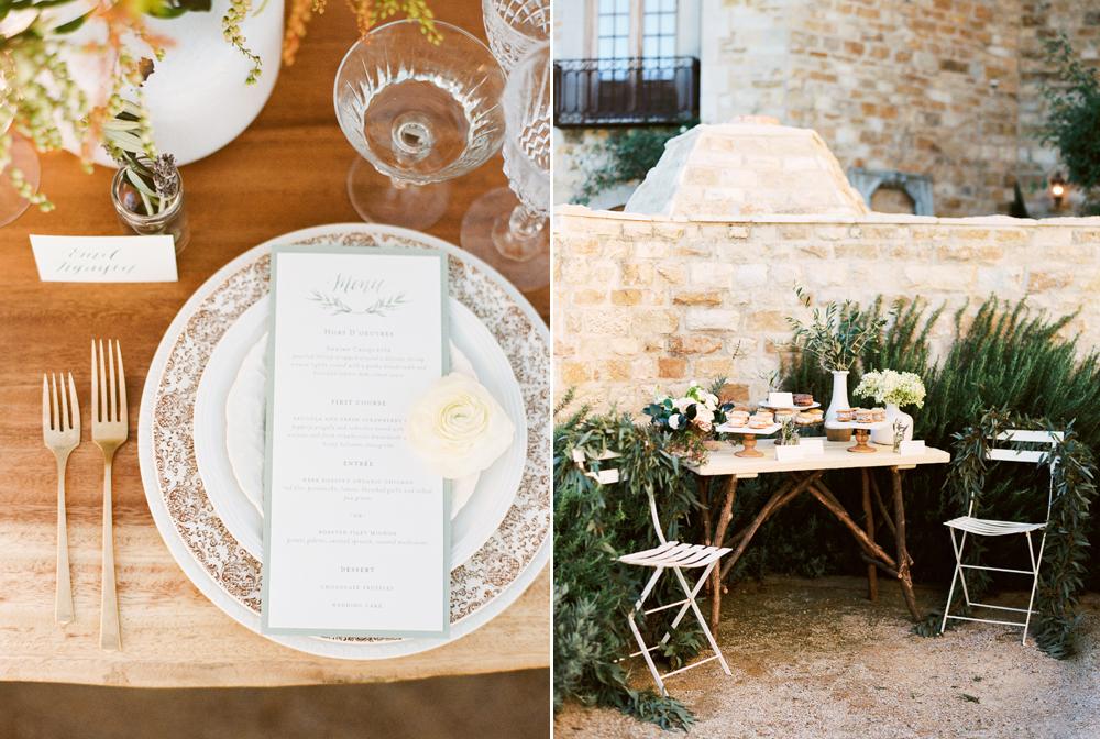 Botanical inspired wedding at Sunstone Villa
