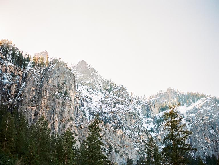 Yosemite film photograph