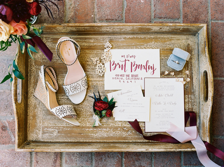 Personal wedding day details styled and photographed by Jen Rodriguez