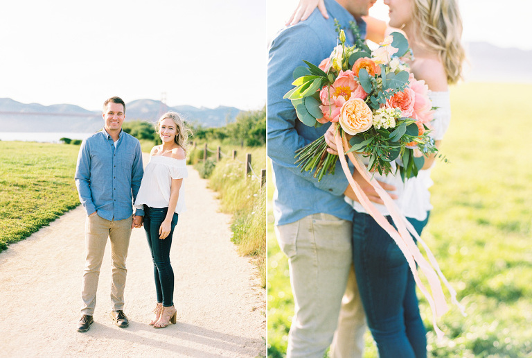 Crissy Field engagement session San Francisco