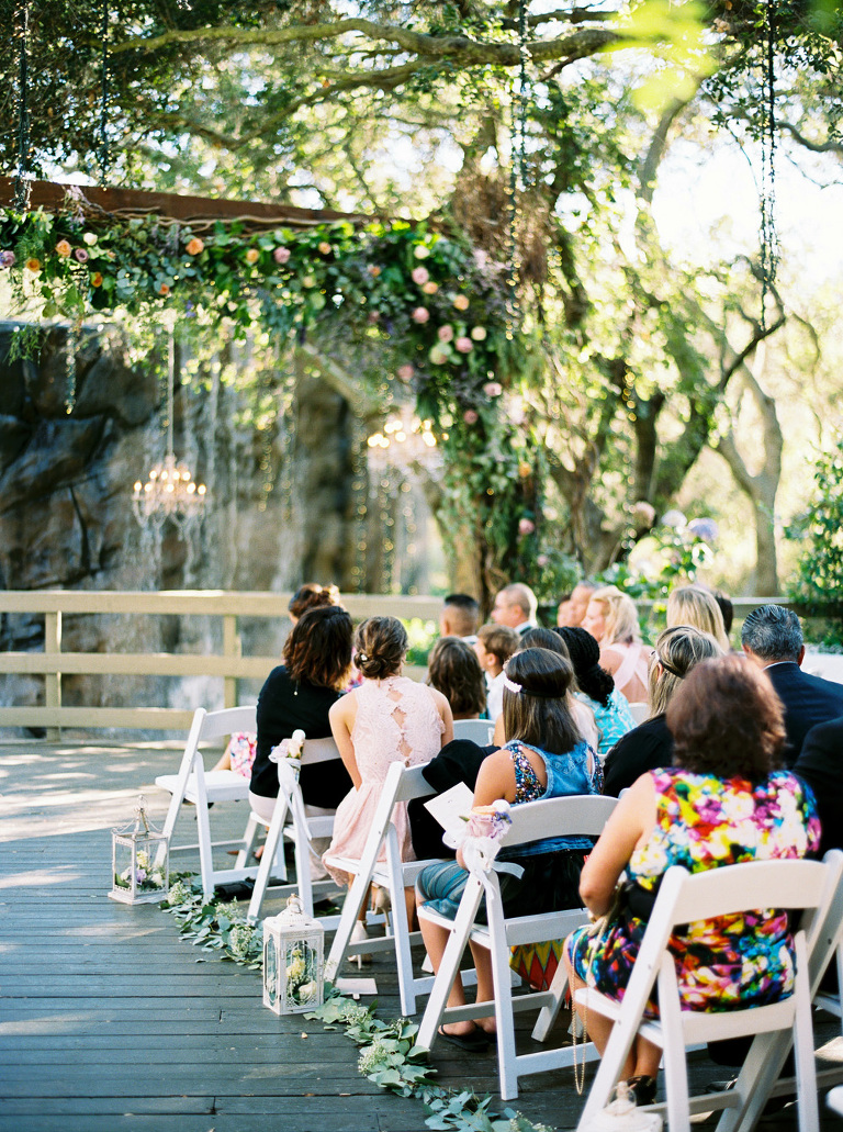 The Oaks ceremony site at Calamigos Ranch