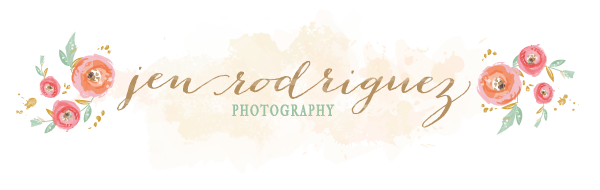 San Luis Obispo Wedding Photographer Jen Rodriguez logo